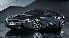 """The BMW is a plug-in hybrid sports car developed by BMW. The is part of BMW's electric fleet """"Project i"""" being marketed as a new sub-brand, BMW i. Bmw I8, All Bmw Models, Bmw Range, Motor A Gasolina, Bmw Electric, Bmw Dealership, Used Bmw, 2017 Bmw, Motors"""