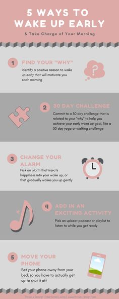 Start taking charge and design the life you want by learning tricks to actually wake up early, make time for your goals, and create your own happiness. Here are 5 ways you can successfully wake up early, and the benefits you will reap! Ways To Wake Up, How To Wake Up Early, Find Your Why, Design Your Life, Morning Motivation, 30 Day Challenge, Setting Goals, Motivate Yourself, Make Time