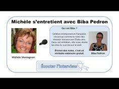 """Entrevue de Michèle Montagnon avec Biba Pedron, une Française baptisée """"reine des réseaux sociaux"""" aux USA depuis plusieurs années."""