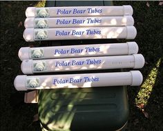 10 PVC Fishing Projects You Can Do Yourself.  polar bear tubes to keep cooler cold.