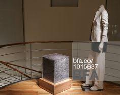 Lavender Cube at MAX MARA Celebrates Encased: A Solo Exhibition by Sasha Sykes. #BFAnyc