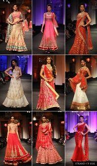 Indian Fashion - Indian Designer - Jyotsna Tiwari at Aamby Valley India Bridal Fashion Week 2012    Blog Posts by Strand of Silk - http://strandofsilk.com/indian-fashion-blog/stylish_thoughts    Read about Indian Designer Fashion and Indian Clothes, including the latest from leading Indian Fashion Designers