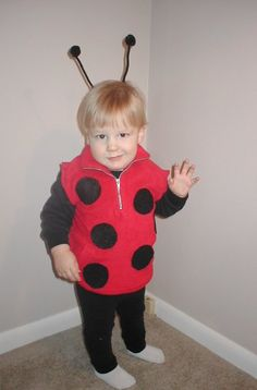 Homemade Costume Idea: Ladybug - Mommysavers.com | Online Coupons & Savings