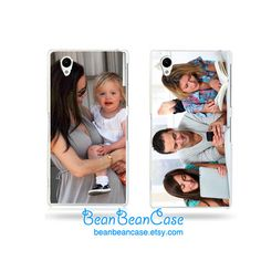 Personalised photo case for Sony Xperia Z2 Z1 door BeanBeanCase