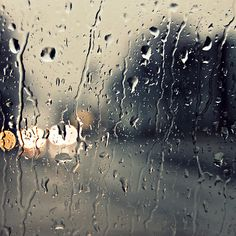 Sometimes you just need a rainy day to yourself.