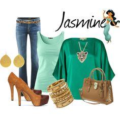 """Jasmine"" by audreyk1227 on Polyvore"