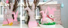 DaWanda-DIY-Hasenpost-Ostern-Osterhase-1 Diy Ostern, Easter Crafts, Easter Ideas, Sewing Tutorials, Diy And Crafts, Bunny, Christmas Ornaments, Holiday Decor, Spring