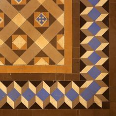 Palau Centelles Geometric Tiles, Mosaic Tiles, Tile Floor, Barcelona, Flooring, Quilts, Blanket, Contemporary, Rugs