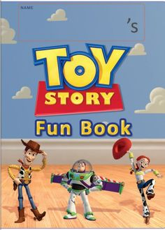 Free Printable Toy Story Fun Book From Disney Family . Toy Story 4 Cast, Toy Story 3 Movie, Toy Story 1995, Toy Story Party, Toy Story Toons, Bo Peep Toy Story, Jessie Toy Story, Disney Printables, Toy Story Birthday