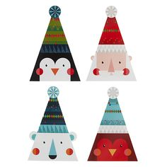 Buy John Lewis FSC-Certified Mini Bobble Hat Cuties Charity Christmas Cards, Box of 24 Online at johnlewis.com