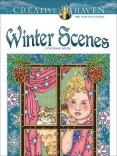Creative Haven Winter Scenes Coloring Book - Noble Marty | Public βιβλία