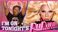 I'm on Rupaul's Drag Race TONIGHT!