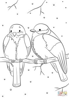 Exclusive Picture of Bird Coloring Pages . Bird Coloring Pages Winter Birds Coloring Page Free Printable Coloring Pages Adult Coloring Pages, Coloring Pages Winter, Space Coloring Pages, Bird Coloring Pages, Dragon Coloring Page, Cat Coloring Page, Online Coloring Pages, Coloring Books, Printable Christmas Coloring Pages