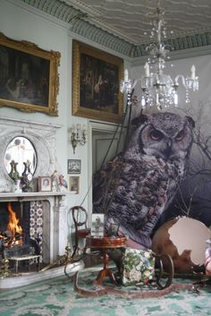 ethereal and very english...tim walker shoot for mulberry autumn winter 2011...set design by shona heath