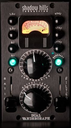 Shadow Hills Compressor. Should be in your sportscar, not your studio.