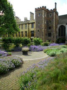 a l b i o n • | t h e • k i n g ' s • e n g l a n d | Lambeth Palace Chapel Garden - London, England