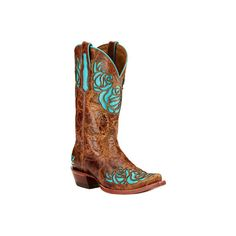 Women's Ariat Dusty Rose X Toe Cowgirl Boot - Saddle Tan Full Grain... ($250) ❤ liked on Polyvore featuring shoes, boots, tan, ariat shoes, rose boots, tan shoes, tall boots and cowboy style boots