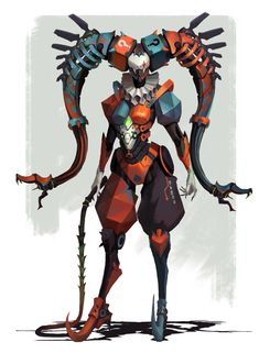 The Art Showcase Fantasy Character Design, Character Creation, Character Design Inspiration, Character Concept, Character Art, Cyberpunk Kunst, Space Opera, Warframe Art, Arte Robot