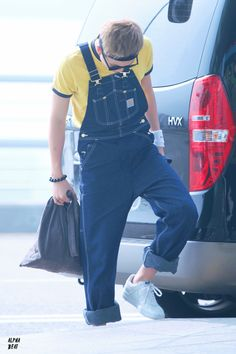 [AIRPORT] 150715: BTS Rap Monster (Kim Namjoon) at Incheon Airport #bangtan #bangtanboys #fashion #style #korean #kfashion #kstyle #kpop