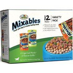 Variety 00079 12/5.3-Ounce Mixables Poultry Lovers Natural Dog Food, Includes 6-Cape Cod Picnic and 6-Tuscan Grille --- You can check out the image by visiting the link. (This is an affiliate link and I receive a commission for the sales)