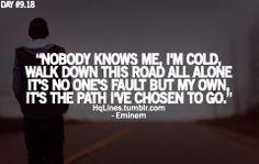 eminem, recovery, sayings, quotes, hqlines Eminem Lyrics, Eminem Rap, Eminem Quotes, Rapper Quotes, Lyric Quotes, Music Lyrics, Words Quotes, Sayings, Eminem Music
