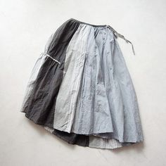 Handmade cotton///// Such lovely and humble skirts, love the softness of the color....