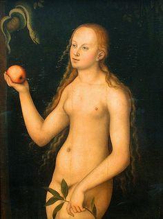 Lucas Cranach the Elder, Eve by f_snarfel, via Flickr