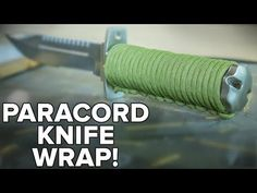 Learn how to make cool paracord knife handle wrap patterns and designs with step-by-step instructions to guide beginners perfectly.