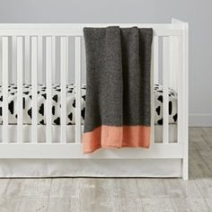 With A Chance of Crib Fitted Sheet | The Land of Nod