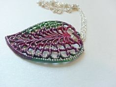 Leaf Necklace Leaf Jewelry Everyday Necklace by heavyistheheart