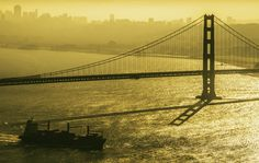 The Silhouette of an Icon by Alister C., via 500px Golden Gate SF