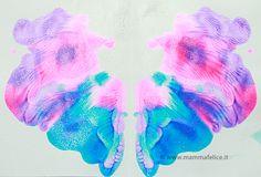 F come Farfalla http://www.mammafelice.it/2013/07/01/dipingere-con-i-bambini/