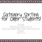 Work of categorization of age-appropriate and academic vocabulary with this fun sorting activity pack!  Using this pack: -Various sorting activitie...