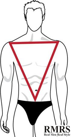 Body Shape For Men Inverted Triangle
