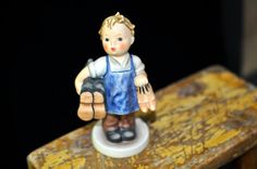 Hummel figurine Boots Goebel Hummel W. by SouthernSisAntiques