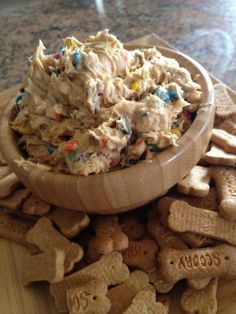 Monster Cookie Dip---THIS IS THE BEST DESSERT EVER!!!