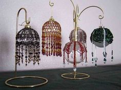 Where can I find Free Beaded Ornament Cover Patterns? - Yahoo! Answers