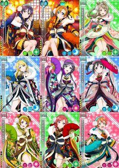 Love live μ's idolized new year set