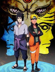 Naruto and Sasuke's Successors Indra Ashura Hagoromo