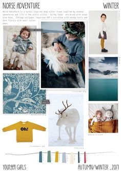 Emily Kiddy: Norse Adventure - Autumn/Winter 2016/17 - Younger Girls Trend