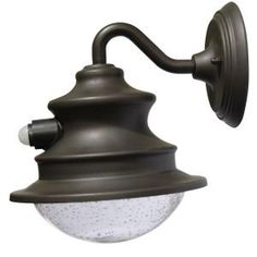 Gama Sonic Barn H Brown Solar LED Outdoor Wall Light at Lowe's. The Gama Sonic outdoor Solar Barn Wall Light with integrated motion sensor lets you add attractive new lighting to the exterior of any home, Garage Lighting, Barn Lighting, Outdoor Wall Lighting, Wall Sconce Lighting, Outdoor Walls, Lighting Ideas, Exterior Lighting, Lighting Design, Backyard Lighting