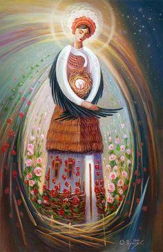 Ukrainian artist. Олег Шупляк - Брегиня / Oleg Shuplyak - Berehynia.