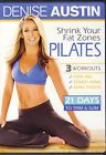 Denise Austin - Shrink Your Fat Zones Pilates  New DVD