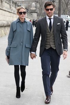 OP & JH - March 8, 2016 #OliviaPalermo #ParisFashion