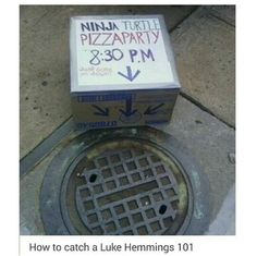 "Not gonna lie at first I'm like ""ooh that's funny""...Then I read Luke Hemmings and it became golden."