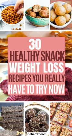 30 Healthy Snacks For Weight Loss Which You Need To Try 30 Amazing and healthy snacks which you need to make today! These healthy snack recipes are perfect for weight loss! Top 10 Healthy Foods, Best Diet Foods, Best Diets, Healthy Eating, Healthy Recipes, Healthy Snack Recipes For Weightloss, Healthy Meals, Heart Healthy Snacks, Vitamix Recipes
