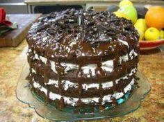 Oreo Cookie Cake.