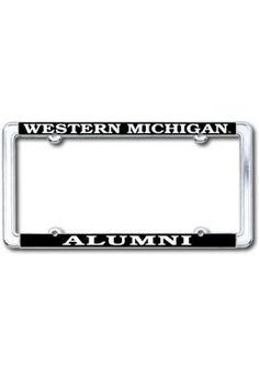 Western Michigan University Alumni Thin Dome License Plate Frame | Western Michigan University
