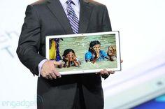 Novo tablet da Panasonic tem resolução 4K e tela de 20 polegadas
