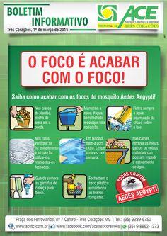 Folha do Sul - Blog do Paulão no ar desde 15/4/2012: TRÊS CORAÇÕES: BOLETIM ACE - DENGUE